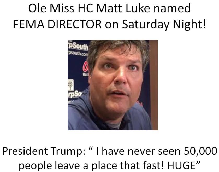 Matt Luke FEMA 1